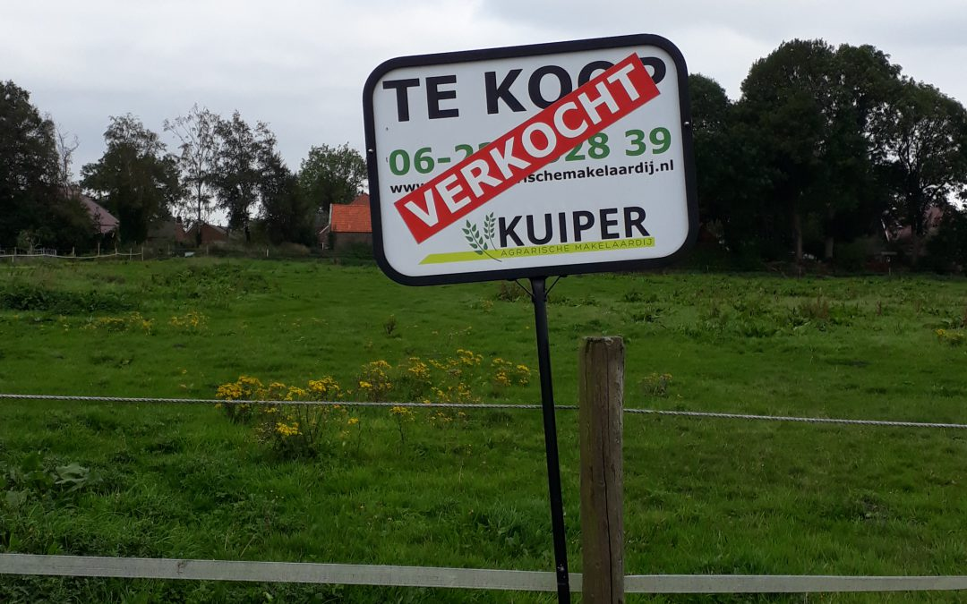 Verkocht paardenweide/landbouwgrond te Wildervank